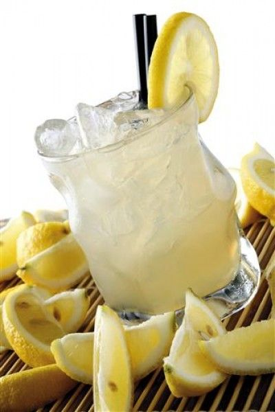 Lynchburg Lemonade cocktail  1 1/2 oz Jack Daniels  1 oz Triple Sec  1 oz Lemon Juice  Top up Lemonade  Shake all ingredients except the lemonade in a cocktail shaker with ice. Shake well for 10-15 seconds or until the outside of the shaker becomes frosted. Strain into highball glass with ice and top up with the lemonade.