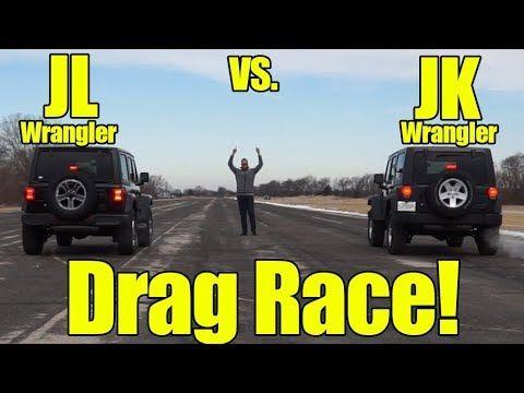 2018 Jeep Wrangler Jl Vs Wrangler Jk How Much Faster Is The New Jl Wrangler Than The Jk Youtube Wrangler Jk Wrangler Jl Wrangler