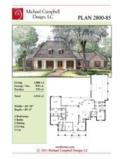 Louisiana homes french country house plans and french for French house plans 2000 square feet