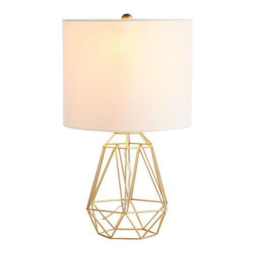 Diamond Golden Wire Table Lamp Lamp Bedside Lamp Rustic Lamps