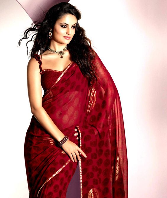 Swathe yourself in the stunning traditional look and create a style which is fresh and unique with this beautiful saree collection. It exhibits gorgeous colors and makes your ethnic look more beautiful and classy. So drape it and flaunt it in style. BRAND: BrijrajCATEGORY: Saree with Unstitched BlouseARTICLECOLOURMATERIALLENGTHSareeRedPoly Georgette5.40 metersBlouseRedPoly Georgette0.80 metersWe would always want to send you what we showcase but there might be a slight variation in color due…