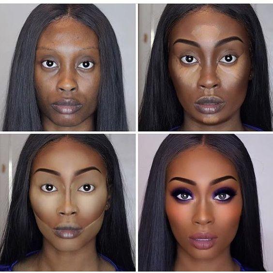 Make beleza negra tuto visual