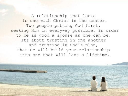 Christ-centered relationship ♥