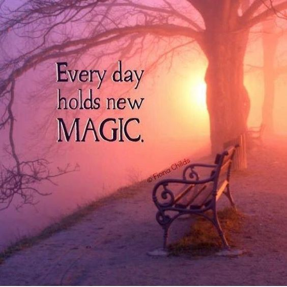 Happy Monday! May Magic find you today.  Workshop yesterday was amazing! Feeling gratitude for the opportunity to follow my heart. Open to more Magic
