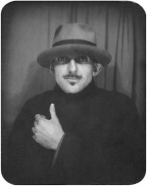 Ansel Adams, Photo Booth Self-Portrait