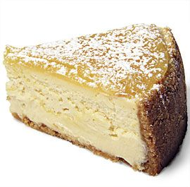 Lemon Bar Cheesecake: This cheesecake gets a double-dose of citrus from the lemon zest stirred into the filling and a layer of tangy lemon curd spread on top.
