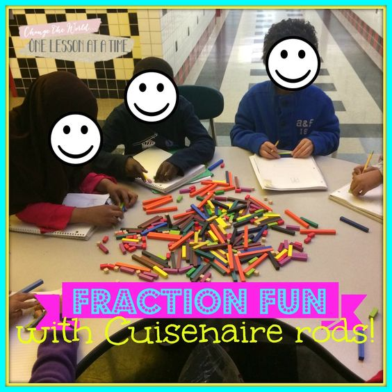 Fraction Printables: Fraction Circles, Cuisenaire Rods, and Pattern Blocks - ideas for using manipulatives and tons of free fraction printables in this post!