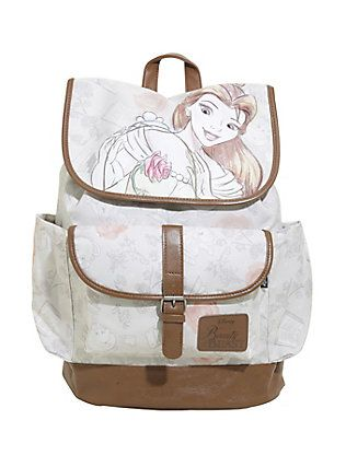Disney Beauty And The Beast Belle Slouch Backpack,