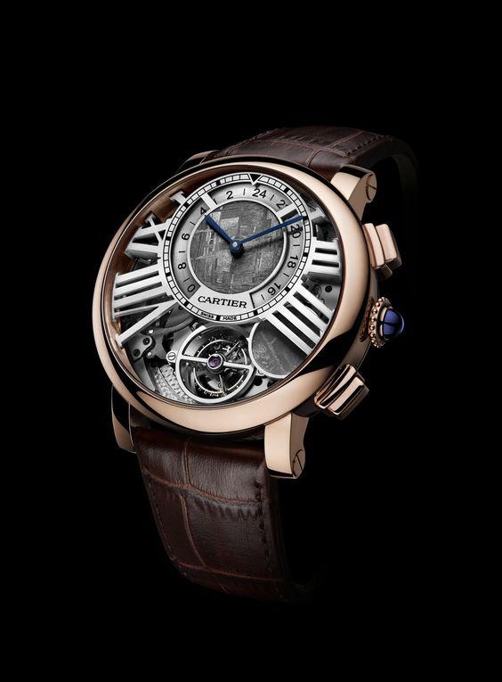 Cartier: Rotonde de Cartier Earth and Moon » Das Uhren Portal: Watchtime.net