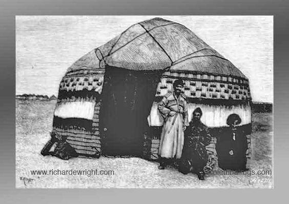 Turkmen Yurt, 3rd quarter 19th century