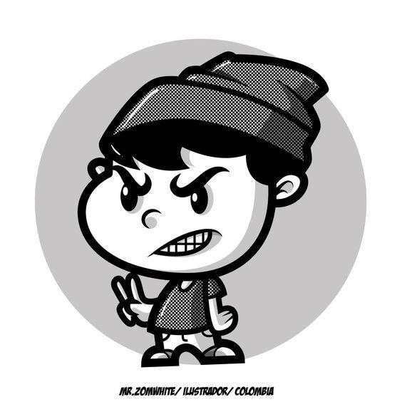 Personaje realizado desde adobe Ai   #vectores #vector #ilustracion #ilustraciones #ilustradores #comic #cartoona