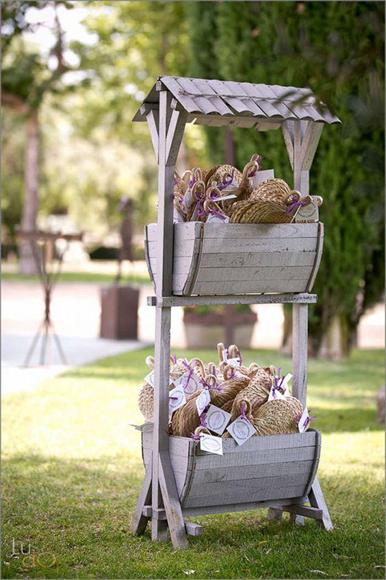 Una idea perfecta para una boda con estilo deco bodas - Detalles decoracion boda ...