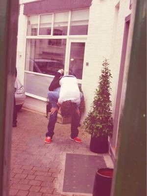 Rare picture ~ lou and haz