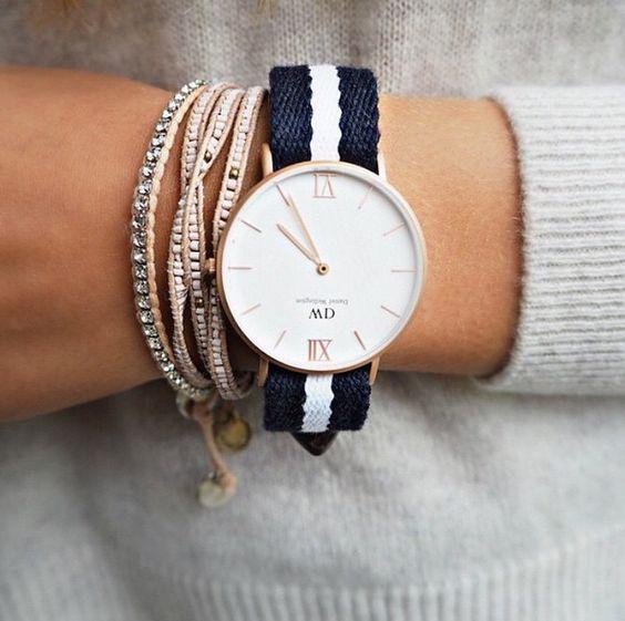 Elegant accessories. Shop the timepiece at www.danielwellington.com!