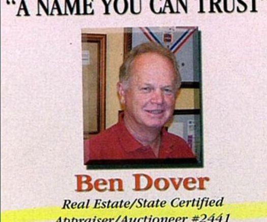 Gay names ben dover
