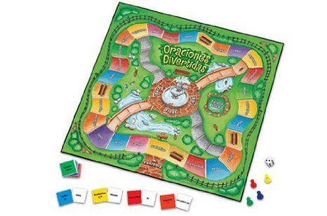 Amazon.com: Learning Resources Oraciones Divertidas Spanish Game: Office Products