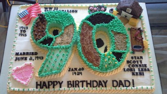 Lime Green Rosettes For Cindys 65th Birthday