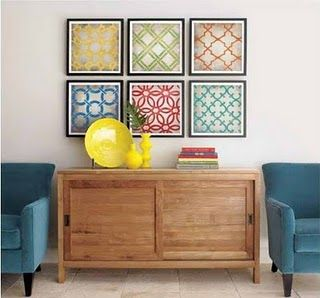 fabric frames, its that easy