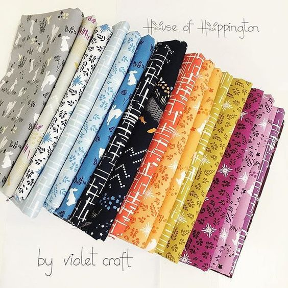 #Repost @violetcraft ・・・ House of Hoppington by Violet Craft for Michael Miller Fabrics  I am so excited to finally share #houseofhoppington with you! I really needed this burst of sunshine today. How about you?  Shipping to stores in June. I am ridiculously excited for our #quiltmarket display.  #violetcraft #houseofhoppington  @michaelmillerfabrics: