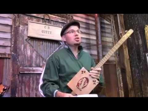 Cigar Box Nation TV:  Gitty's Celtic Cigar Box Guitar