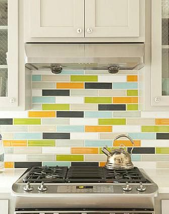 Clayhaus Ceramic Tile - 2x8 in a blend - available at House+Earth! #ClayhausTile #houseandearth #handmade #backsplash
