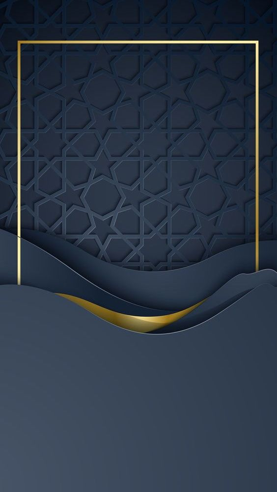 Muchatseble Poster Seni Islamis Kreatif Blue cell phone wallpaper photo