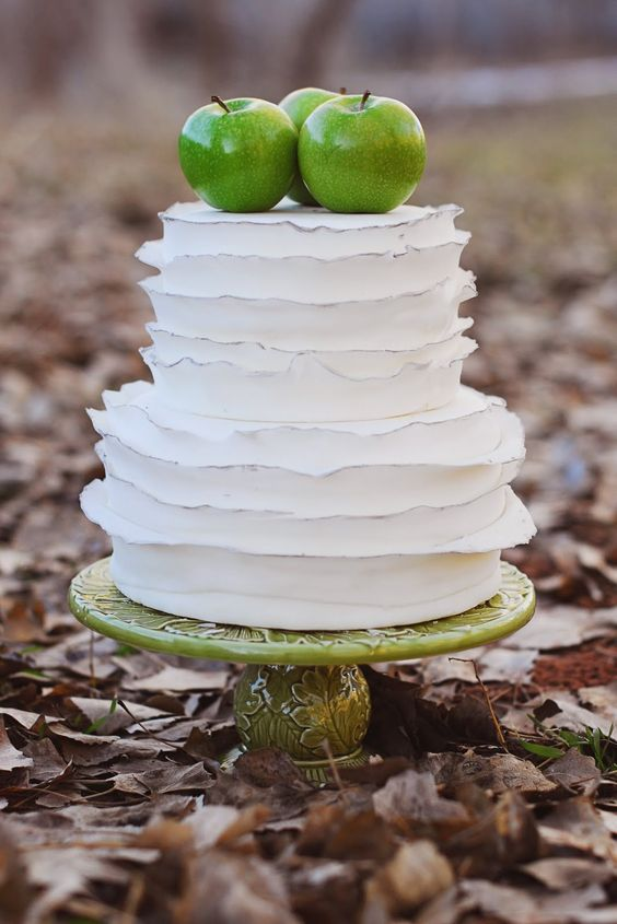 apple cake topper