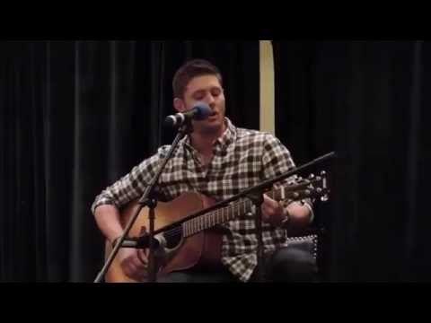 Jensen Ackles Singing Wild Mountain Thyme - YouTube