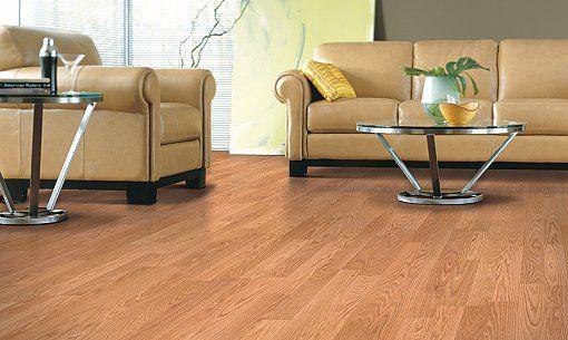 Mohawk Uniclic Laminate Flooring Color Is Quot Honey Oak