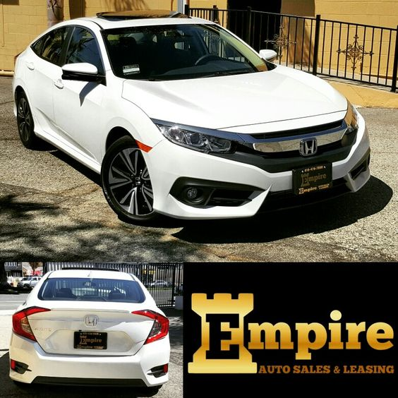 Congratulations Lilian on your Brand new Honda Civic EX-T . Enjoy your new ride and welcome to the Empire Auto Family.  #empireauto #new #car #lease #purchase #finance #newcarlease #newcarfinance #refinance #leasingcompany #customerservice #glenoaksblvd #autobroker #autobrokers #brokerdeals #specialdeals #freeoilchange #freemaintenance #wholesaler #autobrokerdeals #2016hondacivicex