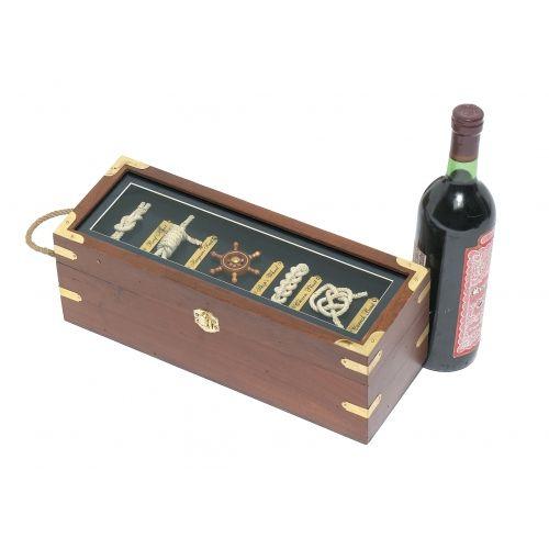 Knot Board Wine Box: