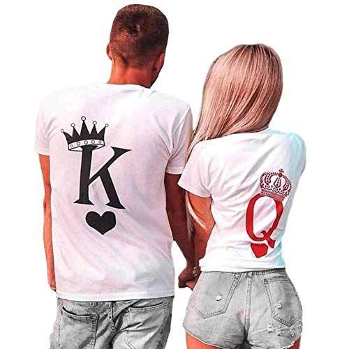 Couple Tank Top-roi et reine amour correspondants Shirts Nouveau Design couple Tee Tank