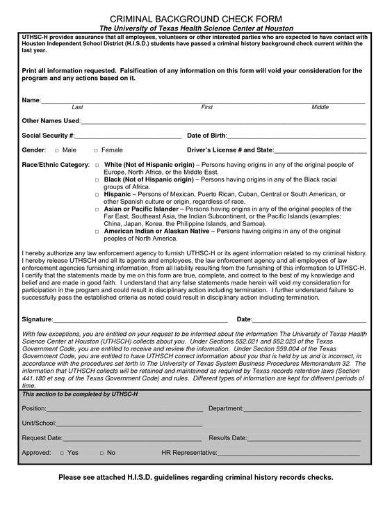 Rental background check tomu criminal background check form template check out this background rental background check pronofoot35fo Choice Image