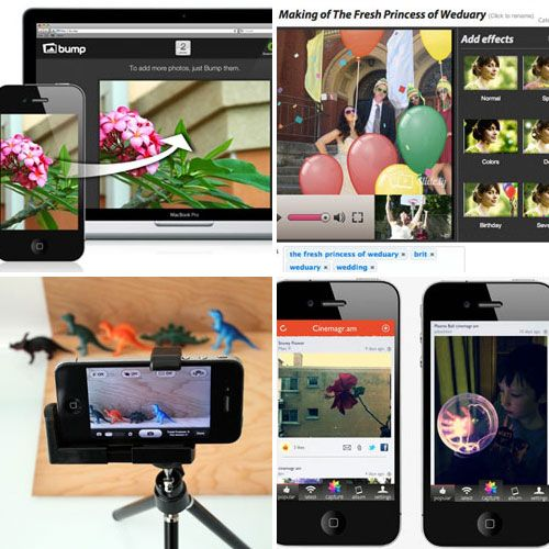 Whether you're a professional photog or an amateur one, it's fairly likely that your primary source of photo power lies in your darling iPhone. Here are a few ways to get a little bit more out of that never-ending camera roll.