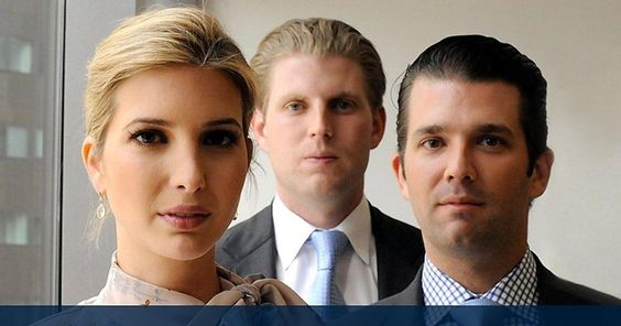 """Um, where is Marla Maples' adult daughter? """"Donald Trump Jr. tweeted out a photo of himself and his siblings to urge young people to vote for his dad — but the internet said the awkward shot looked more like a """"Children of the Corn"""" movie poster than a savvy political ad."""""""