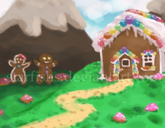 Sweet Land Background by StarFishs