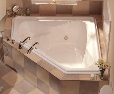 Cool Kitchen Bath Showrooms Nyc Thin Bathroom Wall Fixtures Square Small Bathroom Designs Shower Stall Best Ceramic Tile For Bathroom Floors Youthful Bathroom Door Design Pictures GrayBathrooms Designs Pinterest Corner Soaking Tub, Big Enough For Two | For The Home | Pinterest ..