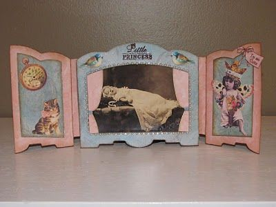 3D Shadow Boxes and Altered Fairy Scraps for CHA
