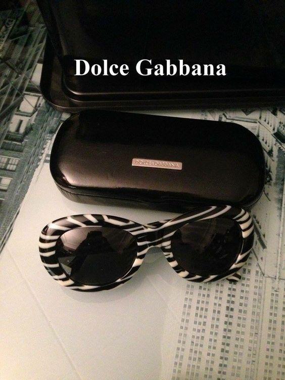 Dolce & Gabbane zebra sunglasses - vintage