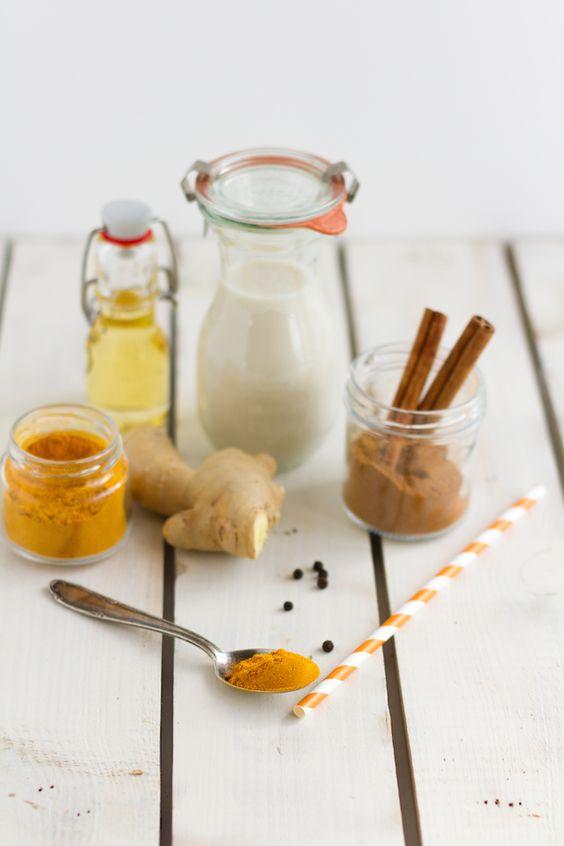 Kurkuma Milch I  Golden Milk I Curcuma Latte I Turmeric Latte I haseimglueck.de
