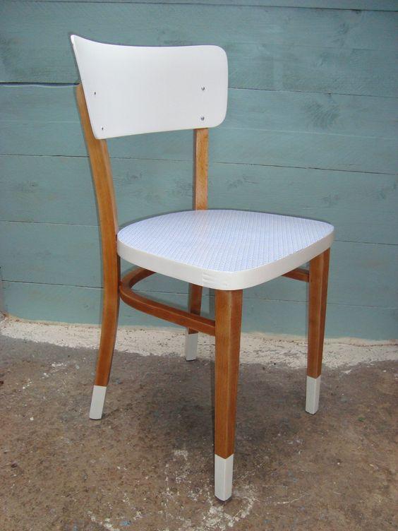 Pinterest le catalogue d 39 id es - Relooker une chaise en bois ...