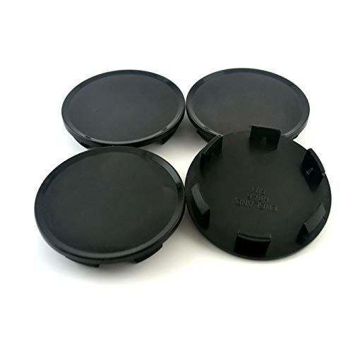 51mm Black Abs Car Wheel Center Hub Caps Base Set Of 4 Hub Caps Car Wheel Black Wheels