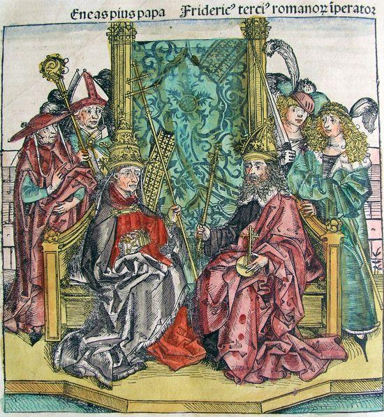 Papst und Kaiser, Herren des Christentums (1493)