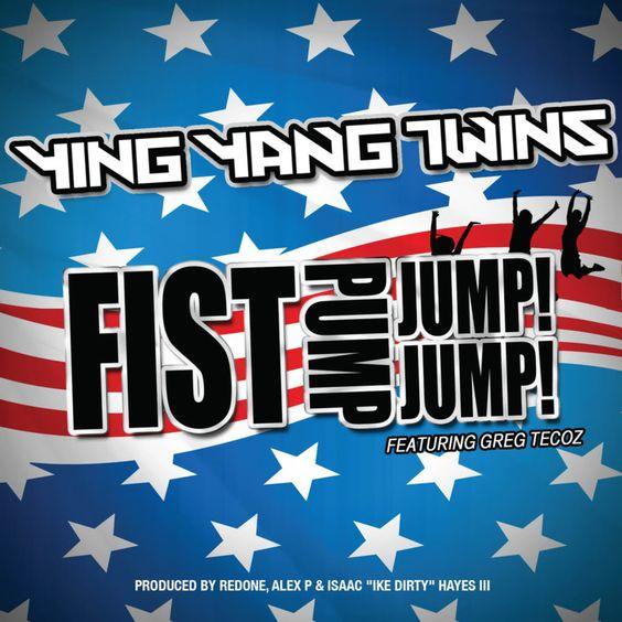 Ying Yang Twins, Greg Tecoz – First Pump, Jump Jump (single cover art)
