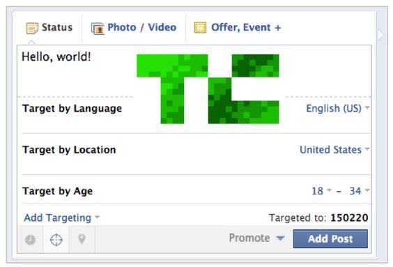 #Facebook Seiten bekommen erweiterte Target-Optionen via @Futurebiz_de