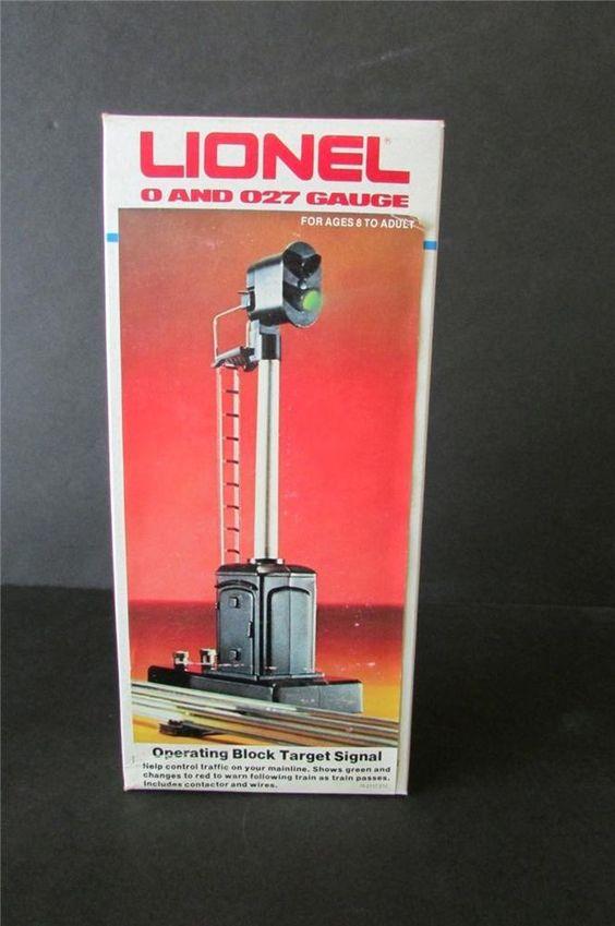 Lionel 6-2117 Operating Block Target Signal w/ Box