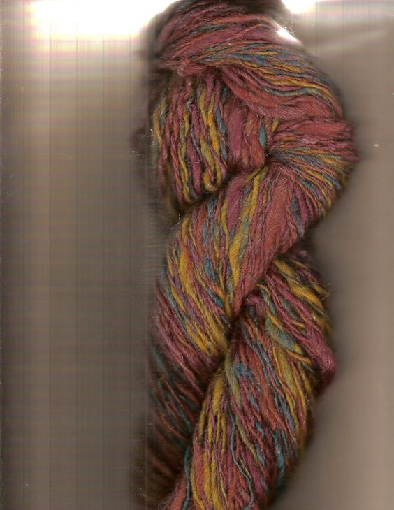 Gorgeous alpaca Putting on the Glitz yarn by BlitzKnits on Etsy, $12.00
