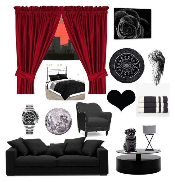 """""""Untitled #32"""" by debo29 ❤ liked on Polyvore featuring interior, interiors, interior design, home, home decor, interior decorating, BoConcept, Rolex, Baxton Studio and Dot & Bo"""