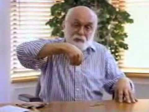 James Randi demonstrates how to fake psychic powers.