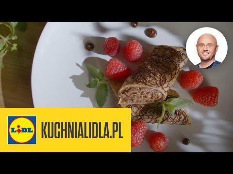Nalesniki Ciasteczkowe Z Malinami I Czekolada Pawel Malecki Kuchnia Lidla Youtube
